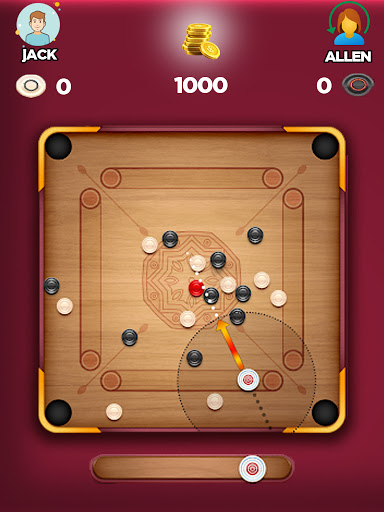 Carrom Board 3D: Online Multiplayer Pool Game 2021 apkpoly screenshots 6