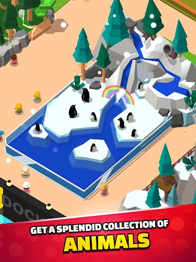 Idle Zoo Tycoon 3D - Animal Park Game APK MOD (Astuce) screenshots 2