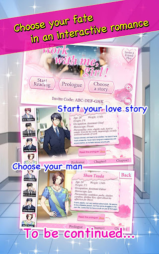 Code Triche Office love story - Otome game (Astuce) APK MOD screenshots 4