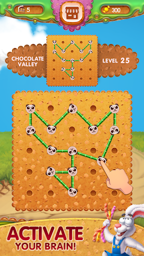 Toffee : Line Puzzle Game. Free Rope Shapes Game apkpoly screenshots 2