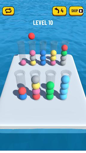 Ball Sort Puzzle 3D 0.7 screenshots 2