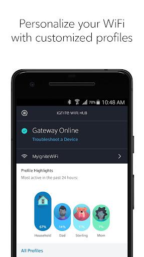Rogers Ignite WiFi Hub  screenshots 2