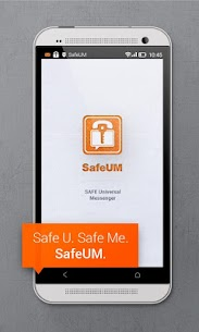 Secure messenger SafeUM 1