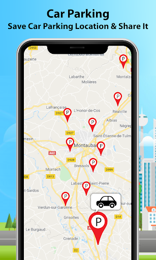 GPS Alarm Route Finder - Map Alarm & Route Planner 1.5 Screenshots 4