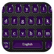 Cool Purple Keyboard