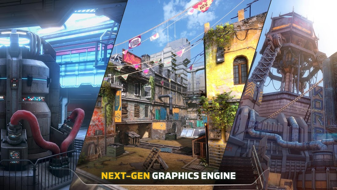 Modern Combat Versus: New Online Multiplayer FPS screenshot 3
