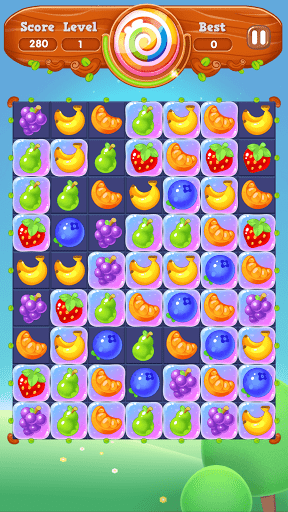 Fruit Melody - Match 3 Games Free 2021 screenshots 8