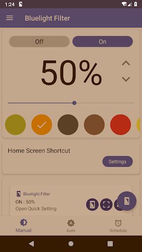 Bluelight Filter for Eye Care - Auto screen filter 3.7.1 Screenshots 2