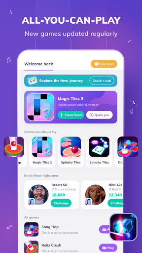 Game of Songs - Music Social Platform 2.2.1 screenshots 1