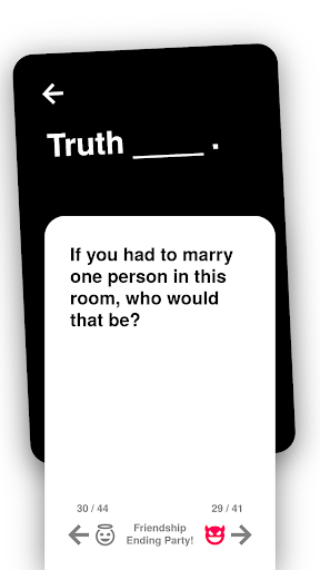 Truth or Dare: Dirty & Evil Drinking Game  screenshots 3