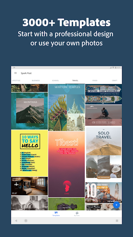 Adobe Spark Post: Graphic Design & Story Templates  poster 22