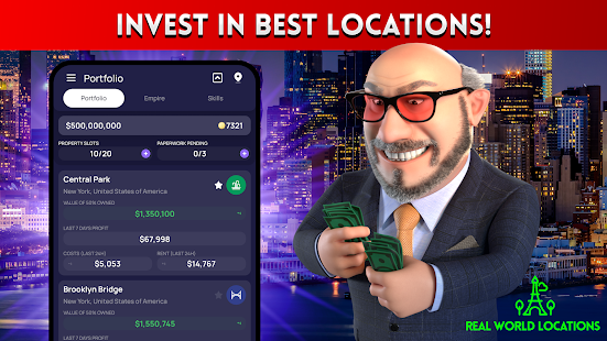 LANDLORD IDLE TYCOON Business Management Game 4.0.8 Screenshots 2