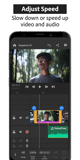 Adobe Premiere Rush u2014 Video Editor  Screenshots 3