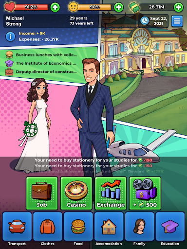 My Success Story business game 2.0 screenshots 10