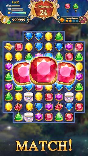 Jewel Mystery 2 - Match 3 & Collect Coins 1.3.0 screenshots 1