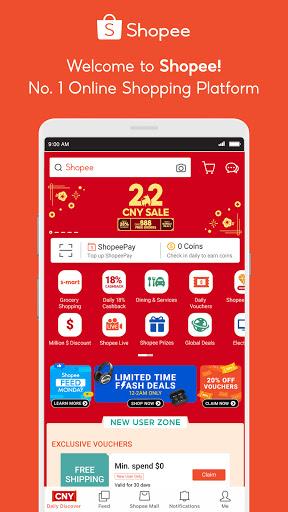 Shopee SG 2.2 CNY Sale 2.65.13 screenshots 1