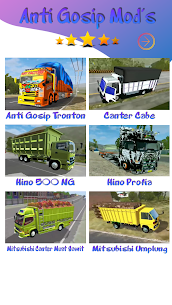 Mod Truck Canter Anti Gosip BUSSID 2