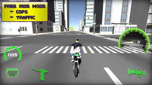 Motorbike  Online Drag Racing - Wheelie racing 3D screenshots 23