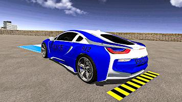 Police Car Games: Modern Car Parking Games 2021