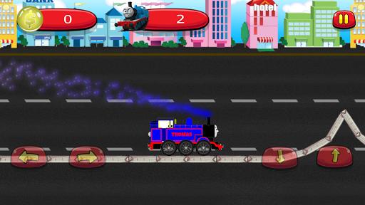 Train Thomas Traffic Race 1.0 screenshots 4