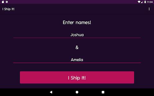 I Ship It - Fandom Couple Name Generator LOVE GAME