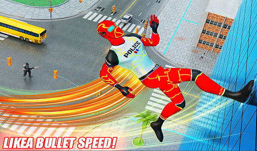 Top Speed Hero Police Robot Cop Gangster Crime 3.2 screenshots 11