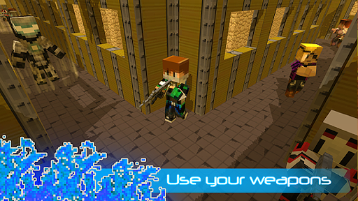 Robot Ninja Battle Royale  screenshots 4