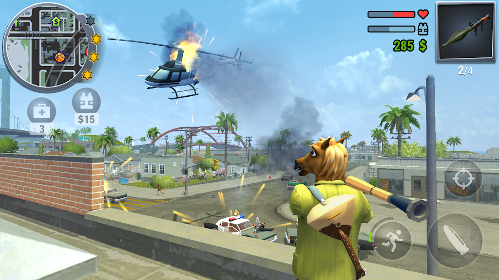 Gangs Town Story - action open-world shooter  poster 1