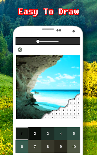 Landscape Coloring Book - Color By Number  screenshots 5