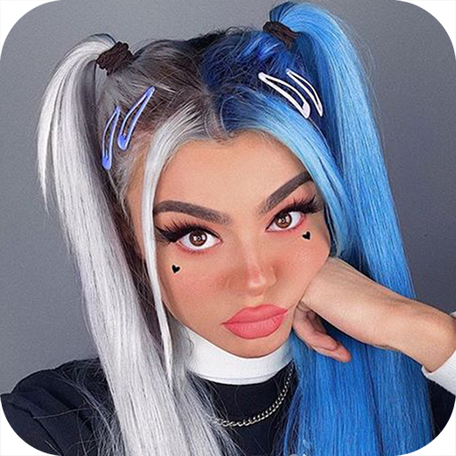 Hair color editor - Different hair colors changer