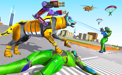 Wolf Robot Transforming Games – Robot Car Games 1.0.23 screenshots 1