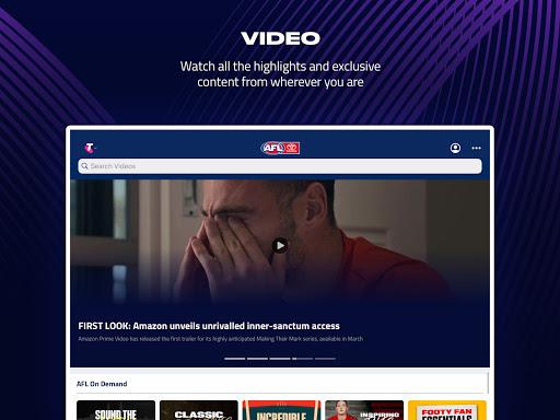AFL Live Official App  screenshots 8