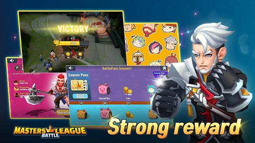 Masters Battle League 5v5 : Legend MOBA PvPTrainer screenshots 2