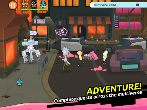 Rick and Morty: Clone Rumble 1.3 Screenshots 8