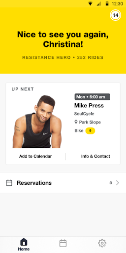 SoulCycle: Find a class. Book your bike. 0.6.4 screenshots 1