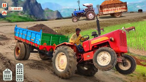 Tractor Trolley Drive Farming Simulator Game 2021 1.7 screenshots 3
