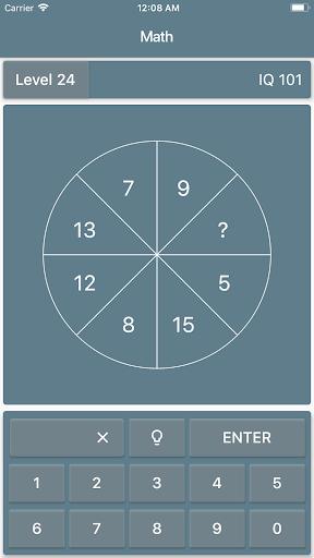 Math Riddles: IQ Test  screenshots 1