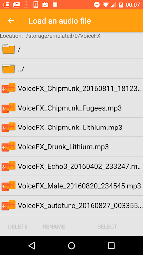 VoiceFX - Voice Changer with voice effects screenshots 7