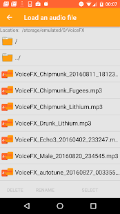 VoiceFX - Voice Changer with voice effects 1.1.8d-google Screenshots 7