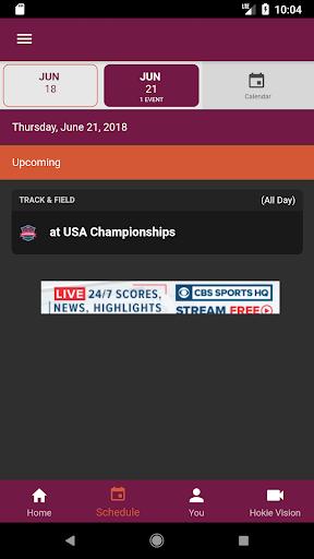 virginia tech hokiesports screenshot 2