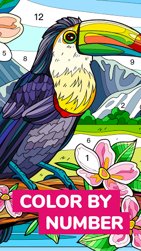 Color Flow - Color by Number. Coloring games. 1.9.2 screenshots 1