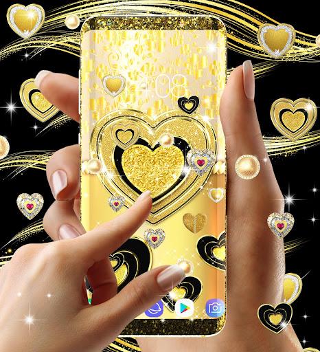 Gold live wallpaper 2021 apktram screenshots 15