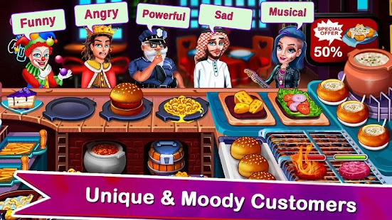 Cooking Express 2: Chef Restaurant Cooking Games Screenshot