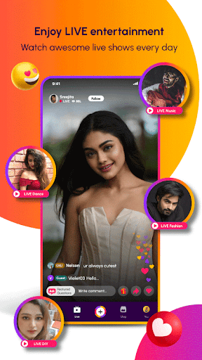 Roposo: Live Video and Online Shopping App  screenshots 1