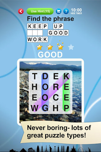 Word Search World Traveler 1.15.5 screenshots 2