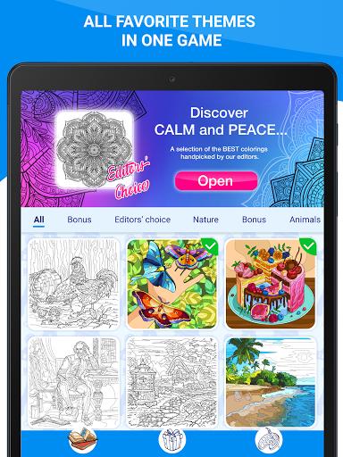 Happy Canvasu2122 - Color by Number Book 2.1.2 screenshots 14