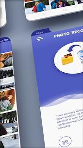 استعادة الصور المحذوفة: تطبيق استرداد الصور مجانًا 1