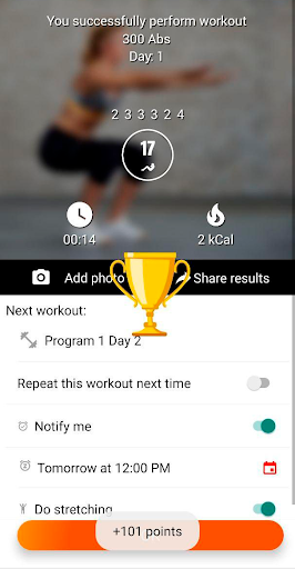 Home workouts BeStronger Fitness and streetworkout android2mod screenshots 6