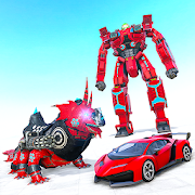 Lizard Robot Car Game: Dragon Robot Transform