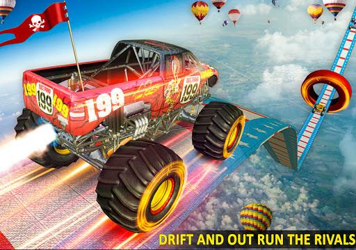 Ramp Monster Truck Stunts:New Racing Games 2.1 screenshots 12